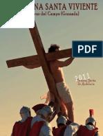2011 Programa de Mano de La XI Semana Santa