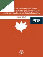 Directrices Del Facilitador de Campo_ Realización de Encuestas Para Seleccionar Los Productos e Identificar Las Ideas de La Empresa MÓDULO 2