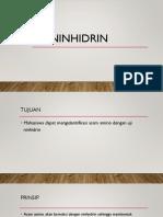 NINHIDRIN