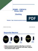 Ece260b w04 Clocking
