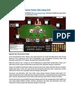 Game Poker QQ Uang Asli