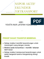 Transport Aktif Sekunder Kontertransport