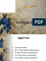Advertising Campaign Chevko
