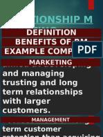 Topic 6. Relationship Marketing