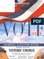 Star-Advertiser 2010 Hawaii General Election Guide