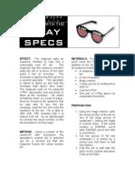 Andrew Mayne - X-Ray Specs