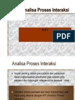 Analisa Proses Interaksi.