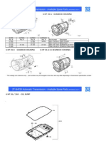 ZF 6HP26 Spare Parts