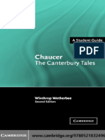 Chaucer the Canterbury Tales a Students Guide