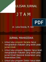 Pelatihan Penulisan Jurnal Jtam
