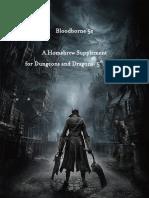 Bloodborne D&D 5ed