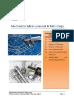 Mechanical Measurement & Metrolog.pdf