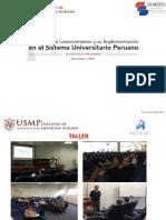 TALLER_MODELO DE LICENCIAMIENTO Y SU IMPLEMENTACION EN EL SIST UNIV PERUANO_v2.pdf