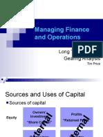 Long Term Capital, Ratio Analysis