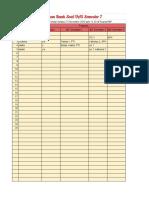 Pemesanan Bank Soal UTS Semester 7 Angkatan 2015