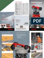 Automatic Level Pentax AP 220 224 228