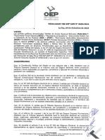 Resolución Administrativa 0645/2018