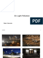Lecture 6 - Light Pollution
