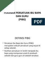 Peranan Pibg ILYAS