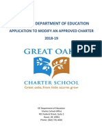 2018-19 GOWIL Charter Modification Application FINAL