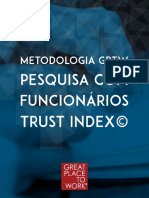METODOLOGIA GREAT PLACE TO WORK® E A PESQUISA TRUST