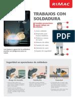 10 Afiche Didactico Trabajos Con Soldadura 50x70