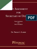 Net Assessment for the Secretary of Defense