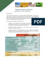 Reglamento Europeo 517 2014. Implicaciones a Corto y Medio Plazo
