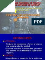 CONTROL DE ACTIVIDADES MINERAS-UT1.ppt