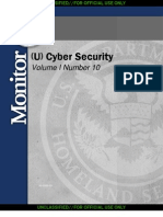 DHS HSM CyberSecurity Monior Volume I Number 10 September 2008