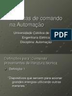 Técnicas de Comando Na Automação