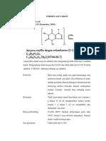 Preformulasi Tablet Aminofilin
