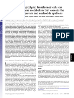 2007 - Beyond Aerobic Glycolysis Transformed Cells Can Engage in Glutamine Metabolism That Exceeds the Requirement for Protein and Nucleotide Synthesis