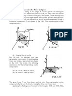 3D Force Theory