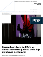 Guerra High-tech de EEUU vs China_ Secuestro Judicial de La Hija Del Dueño de Huawei - Sputnik Mundo