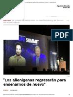 _Los Alienígenas Regresarán Para Enseñarnos de Nuevo_ - Sputnik Mundo