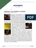 Animajazz n 485 Di Domenica 15 Gennaio Augusto Gentili Musiche per il proprio tempo