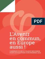 Liste La France Insoumise - Européennes 2019