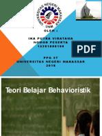 teoribelajarbehavioristik-130925061405-phpapp01