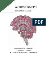 Ukmppd Notes - Berisi rangkuman materi ringkas UKMPPD/UKDI , dijual hardcopy rp.100.000 (+1000 soal) wa;082122411647