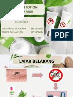 Ppt Lotion Anti Nyamuk
