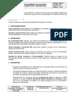 PR024 Procedimiento de Acción Correctiva y Preventiva