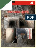 Manual Sostenimiento Anclajes Varillas Fierro Barras Cemento Resina Cables Malla Cintas Fibra Acero