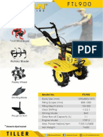 Firman Hand Tractor Ftl-900