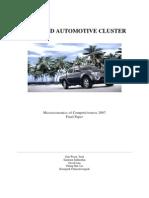 Thailand Automotive Cluster 2007