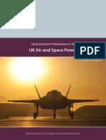 Doctrine Uk Air Space Power Jdp 0 30