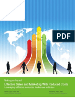 Effective Sales and Marketing With Reduced Costs 10.12.09