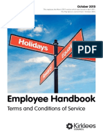 My Employee Handbook 2018