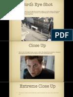 types of shots pdf