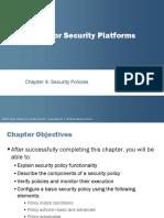 JNCIS SEC PPT - Security Policies - Coruse 10.a